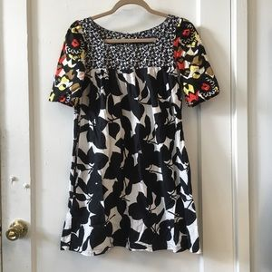 French Connection multi design dress